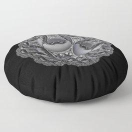 Shades of Gray Floor Pillow