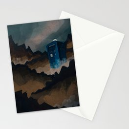 TARDIS in Trenzalore Stationery Cards