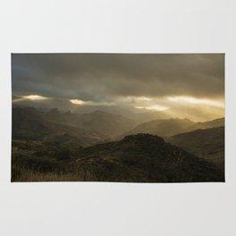 Canaria montana vista Rug
