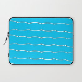 blue abstraction 5 – abstraction,abstract,minimalism,cerulean, bluish,reverie Laptop Sleeve