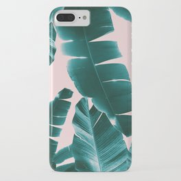 Banana Leaves Summer Vibes #1 #tropical #decor #art #society6 iPhone Case