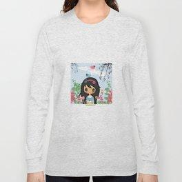 ppinkydolls art print Long Sleeve T-shirt