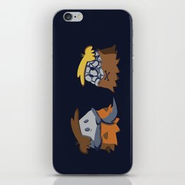 Flint and Rubble iPhone Skin