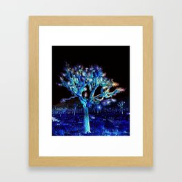 Joshua Tree VG Hues by CREYES Framed Art Print