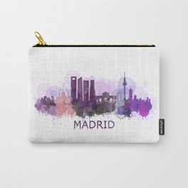 Madrid City Skyline HQ Carry-All Pouch