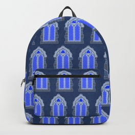 Gothic Windows // Blue Moonlight Backpack