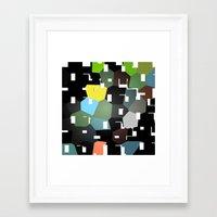 bauhaus Framed Art Prints featuring bAUHAUS by Drama & Drachma