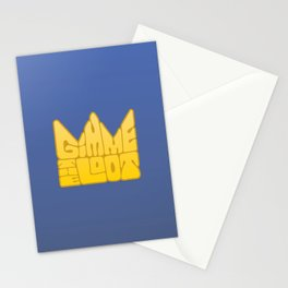 Gimme the Loot Stationery Cards