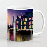 amsterdam Mugs featuring Amsterdam  by mark ashkenazi