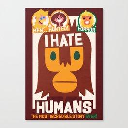 Who's ape Canvas Print