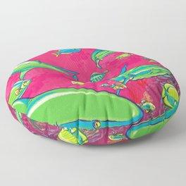The Reef Floor Pillow
