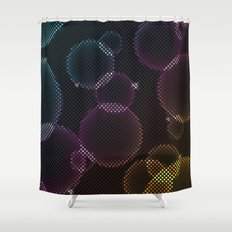 Tech Bubbles Shower Curtain