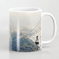 explore Mugs featuring explore. by inourgardentoo