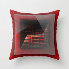 Color wrap Throw Pillow
