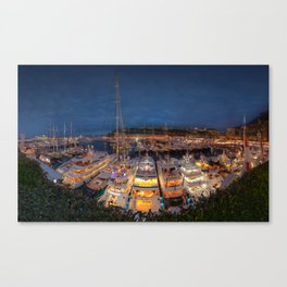 Port Panorama Canvas Print