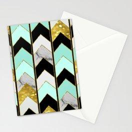Chevron Lights Stationery Cards