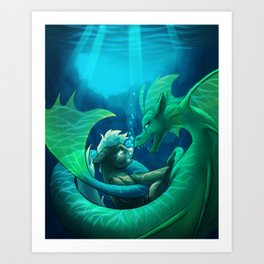 Siren's Song Art Print