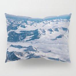Aerial Glacier Four - Alaska Pillow Sham