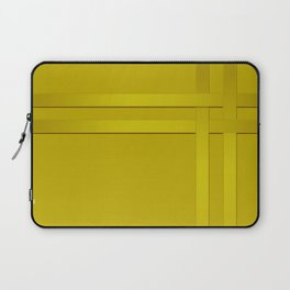 Yellow ribbon braiding Laptop Sleeve