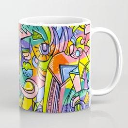 Colourful Faces Coffee Mug