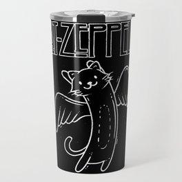 Cat Zeppelin Travel Mug