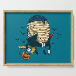Spooky Pancake Serving Tray