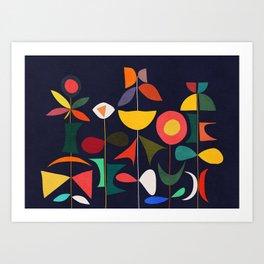 Klee's Garden Art Print