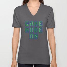 Gaming Gamer Mode Unisex V-Neck