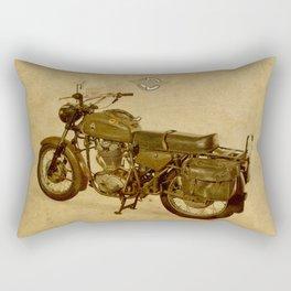 Ducati vintage background Rectangular Pillow