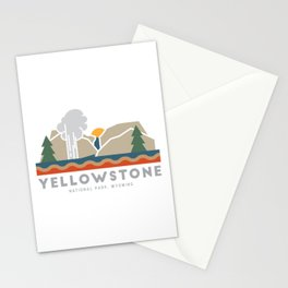Yellowstone National Park Stationery Cards