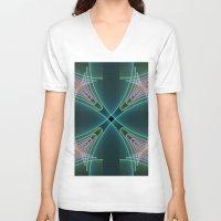 graphic design V-neck T-shirts featuring Graphic Design by gabiw Art