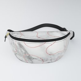 Marble Gold Session III-XIX Fanny Pack