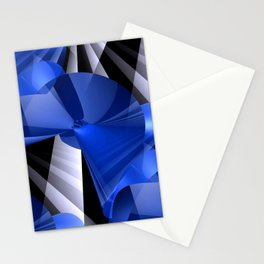 3D abstraction -03- Stationery Cards