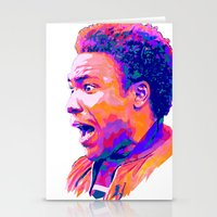 childish gambino Stationery Cards featuring CHILDISH GAMBINO // NEXTGEN RAPPERS by mergedvisible