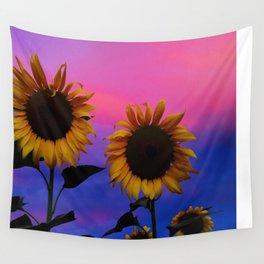 Sunflower Daydream II Wall Tapestry