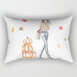Fall Stroll Rectangular Pillow
