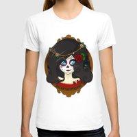 dia de los muertos T-shirts featuring Dia de Los Muertos by Lilolilosa