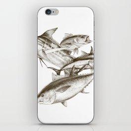 Saltwater big game iPhone Skin