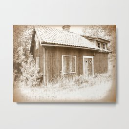 Cottage 1 Metal Print