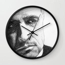 Don Vito Corleone Wall Clock