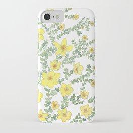 Dasiphora fructicosa iPhone Case