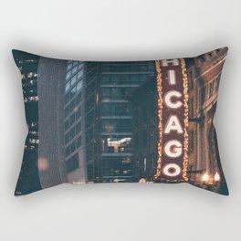 Chicago Street Rectangular Pillow