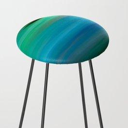 Seascape - blurography Counter Stool