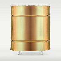 elegant Shower Curtains featuring Elegant by Robin Curtiss