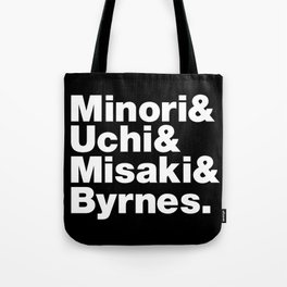 Fab 4: Terrace House Boys & Girls in the City (Tokyo, Japan) Tote Bag