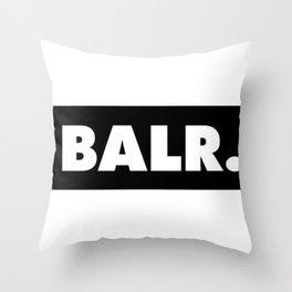 balr. balr ballr blr new fashion art style trend popular hot 2018 2019 cute swag love Throw Pillow