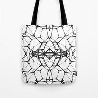 dna Tote Bags featuring DNA by kartalpaf
