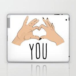 I love you fingers sign Laptop & iPad Skin