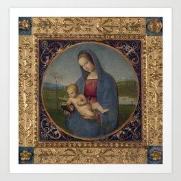 """Raffaello Sanzio da Urbino """"The Conestabile Madonna """", 1504 Art Print"""