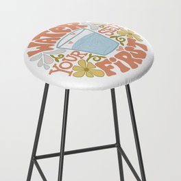 Water Yourself First Bar Stool
